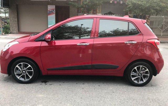 Bán ô tô Hyundai Grand i10 đời 2019, màu đỏ, 386tr0