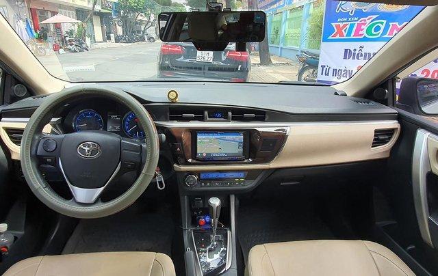 Cần bán xe Toyota Corolla Altis năm 2015, màu bạc6