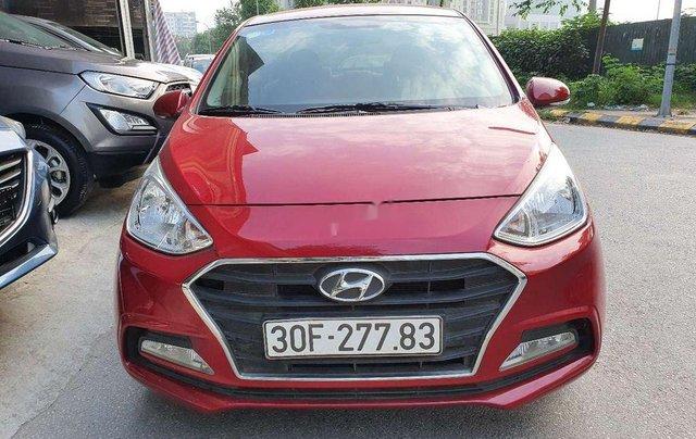 Bán xe Hyundai Grand i10 sản xuất 2018, màu đỏ chính chủ, giá tốt0