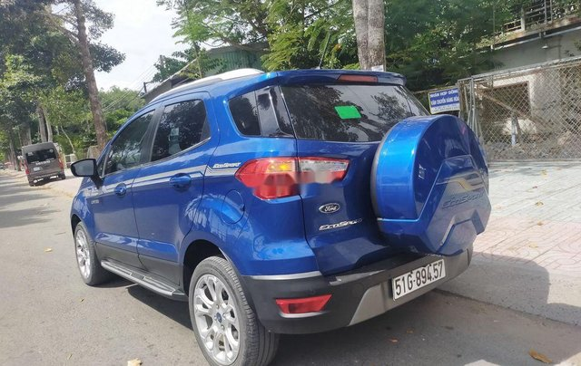 Cần bán lại xe Ford EcoSport năm 2018, màu xanh lam5