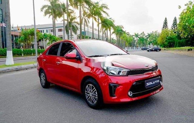 Bán Kia Soluto sản xuất năm 2020, màu đỏ, xe nhập, 429 triệu3