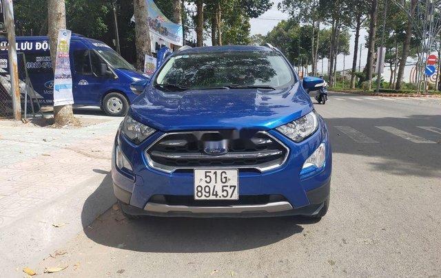 Cần bán lại xe Ford EcoSport năm 2018, màu xanh lam2