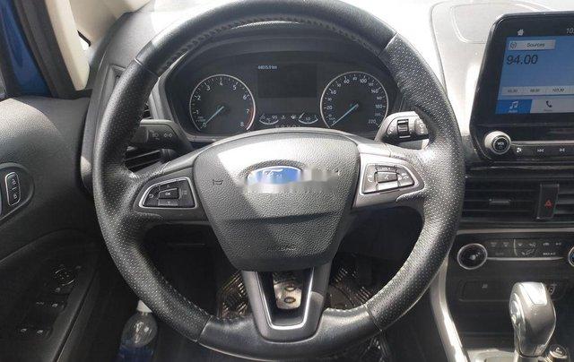 Cần bán lại xe Ford EcoSport năm 2018, màu xanh lam8