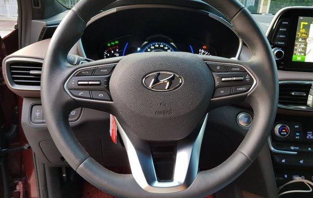 Bán Hyundai Santa Fe 2020, màu đỏ8