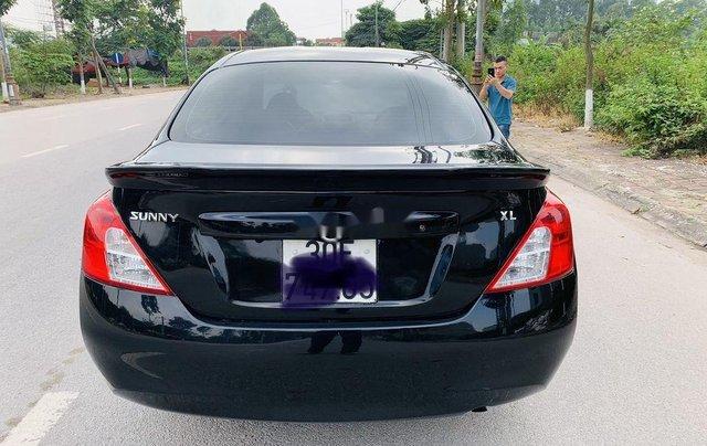 Xe Nissan Sunny năm sản xuất 2013, màu đen chính chủ3