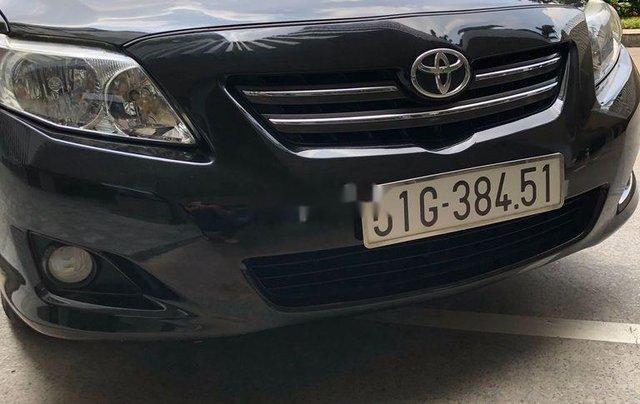 Cần bán xe Toyota Corolla Altis 2009, màu đen1