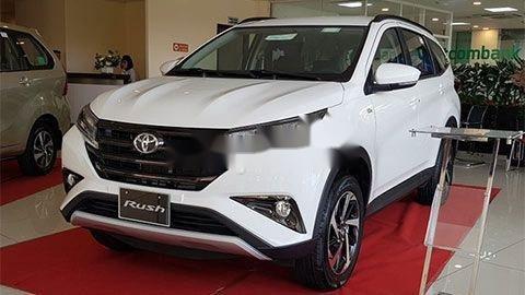 Bán Toyota Rush 2020, màu trắng, xe nhập0