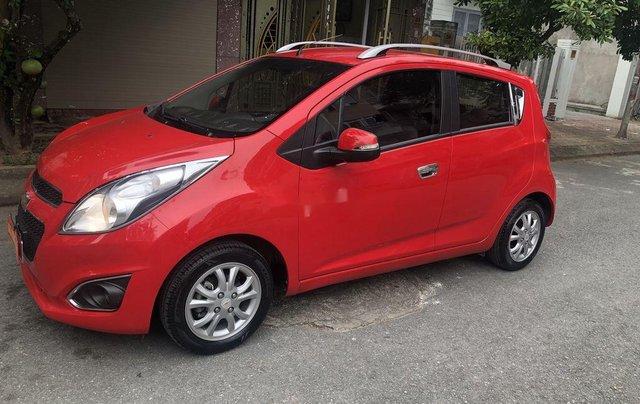 Bán Chevrolet Spark đời 2015, màu đỏ còn mới, giá tốt4