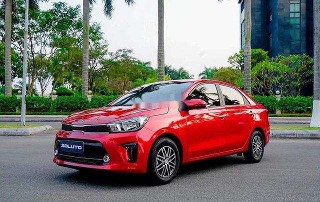 Bán Kia Soluto sản xuất năm 2020, màu đỏ, xe nhập, 429 triệu0