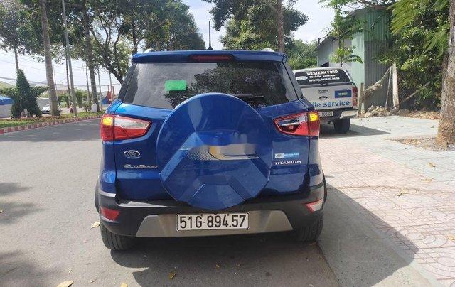 Cần bán lại xe Ford EcoSport năm 2018, màu xanh lam6