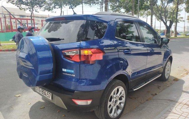 Cần bán lại xe Ford EcoSport năm 2018, màu xanh lam4