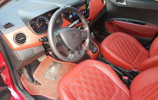 Bán xe Hyundai Grand i10 sản xuất 2018, màu đỏ chính chủ, giá tốt3