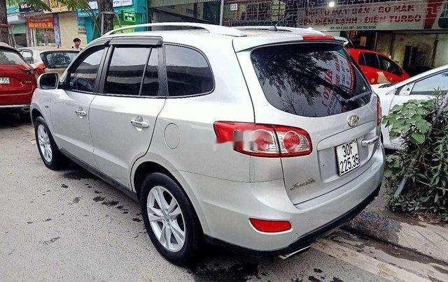 Bán ô tô Hyundai Santa Fe đời 2009, màu bạc, nhập khẩu nguyên chiếc3