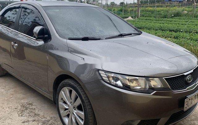 Cần bán lại xe Kia Cerato sản xuất năm 2010, màu xám, xe nhập chính chủ0