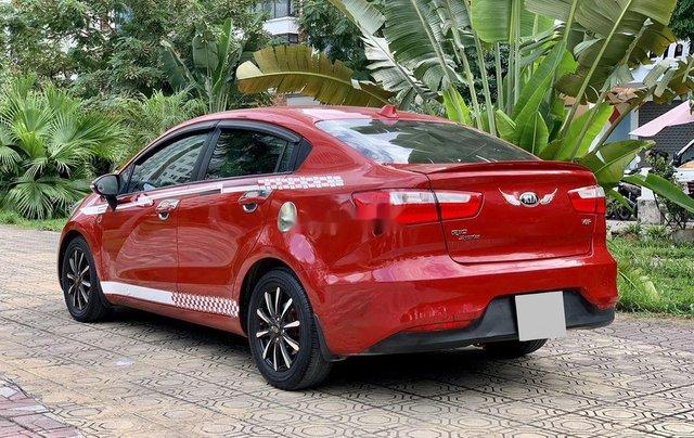 Cần bán lại xe Kia Rio năm sản xuất 2016, màu đỏ, nhập khẩu chính chủ, giá 425tr1