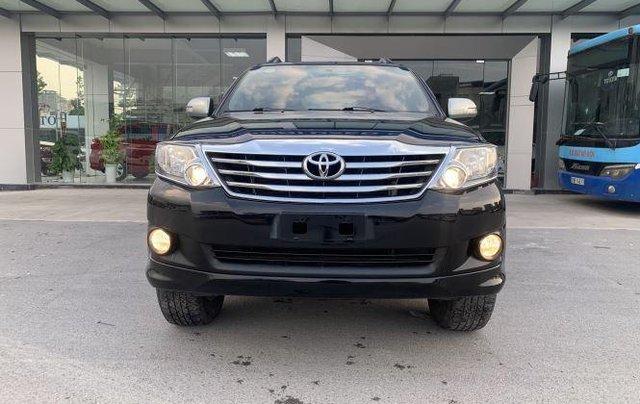 Bán Toyota Fortuner năm 2013, màu đen, chính chủ0