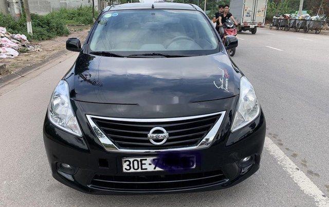 Xe Nissan Sunny năm sản xuất 2013, màu đen chính chủ0