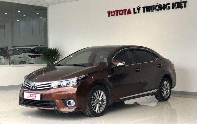 Bán Toyota Corolla Altis năm sản xuất 2014, màu nâu chính chủ, giá 560tr3