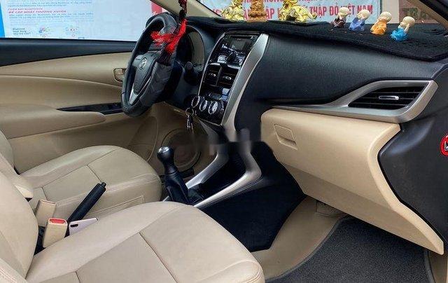 Xe Toyota Vios đời 2019, màu trắng số sàn5