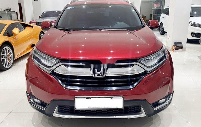 Bán Honda CR V năm 2019, màu đỏ chính chủ, giá chỉ 930 triệu1
