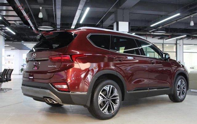 Bán ô tô Hyundai Santa Fe đời 2020, màu đỏ, giá 952tr1