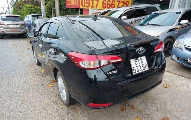 Cần bán gấp Toyota Vios 1.5G năm 2018, màu đen chính chủ2