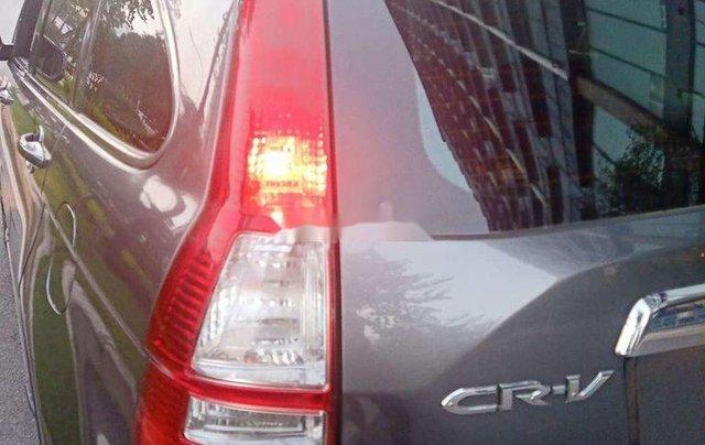 Xe Honda CR V sản xuất năm 2009, màu xám chính chủ10