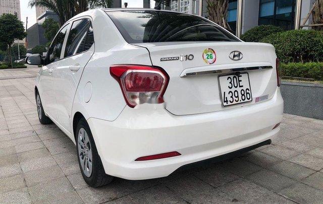 Xe Hyundai Grand i10 đời 2017, màu trắng, xe nhập chính chủ1