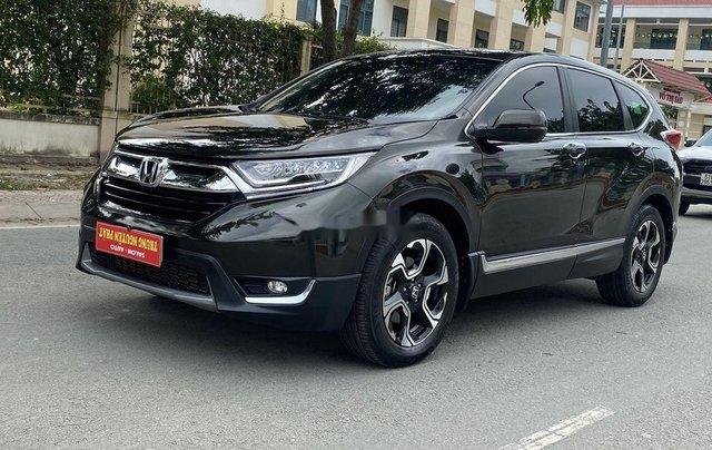 Bán Honda CR V 2018, màu đen, xe nhập, giá 888tr0