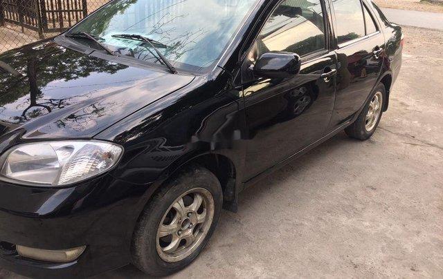 Cần bán gấp Toyota Vios đời 2005, màu đen chính chủ, 128tr3