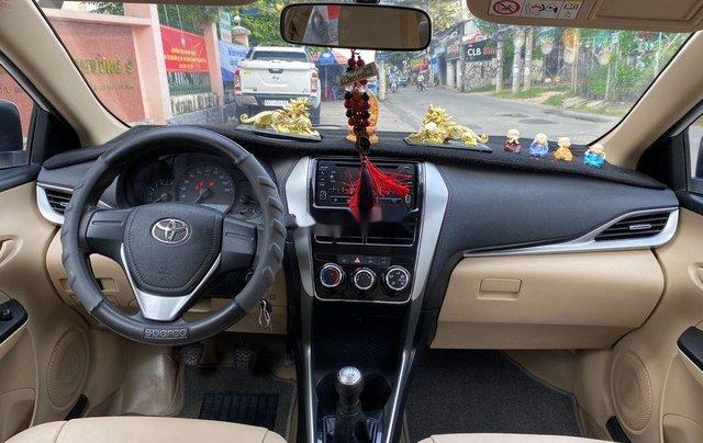 Xe Toyota Vios đời 2019, màu trắng số sàn4