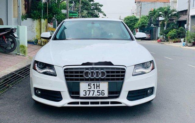 Bán Audi A4 năm sản xuất 2009, màu trắng, nhập khẩu nguyên chiếc còn mới0