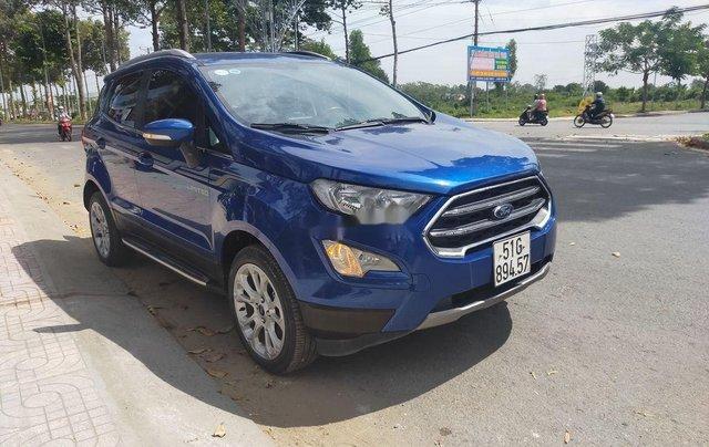 Cần bán lại xe Ford EcoSport năm 2018, màu xanh lam0