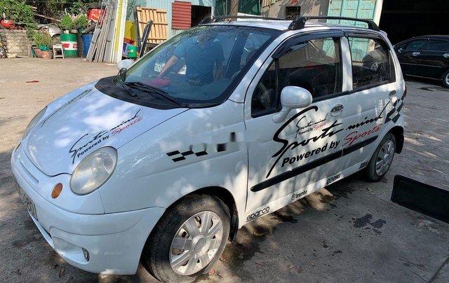 Cần bán gấp Daewoo Matiz năm 2004, màu trắng 1