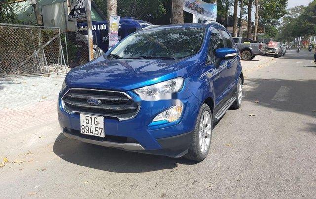 Cần bán lại xe Ford EcoSport năm 2018, màu xanh lam1