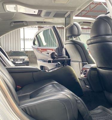 Bán ô tô Lexus LS600hL sản xuất năm 2007, màu xám, nhập khẩu  11