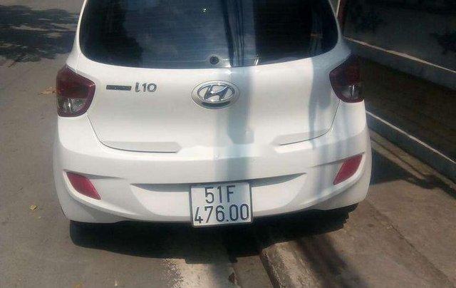 Cần bán lại xe Hyundai Grand i10 sản xuất năm 2017, màu trắng2