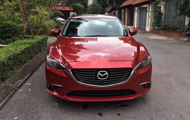 Cần bán lại xe Mazda 6 sản xuất 2017, hỗ trợ bank 70%0