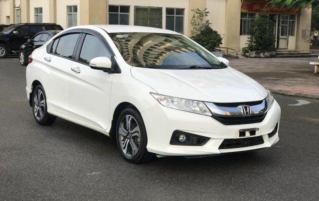 Bán Honda City đời 2016, màu trắng, số tự động, biển TP, trang bị full chỉ cần lấy về đi, giá siêu tốt2