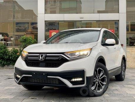 Honda CR-V 2020 giảm 100% thuế trước bạ + Khuyến mãi cực hấp dẫn, xe đủ màu giao ngay0