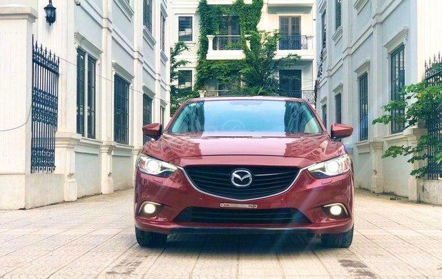 Cần bán gấp chiếc Mazda6 2.5 sản xuất 2014 màu đỏ cực đẹp2