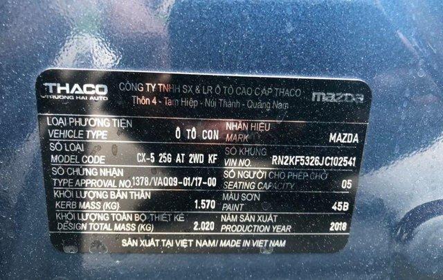 Bán nhanh với giá ưu đãi nhất chiếc Mazda CX-5 sản xuất 2018 2.5 một cầu2
