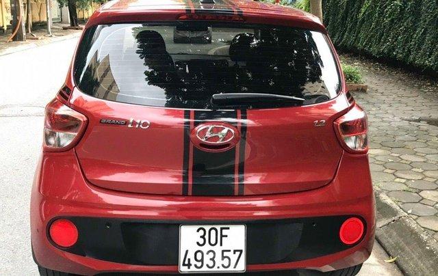 Cần bán xe Hyundai Grand i10 MT 2018, màu đỏ0