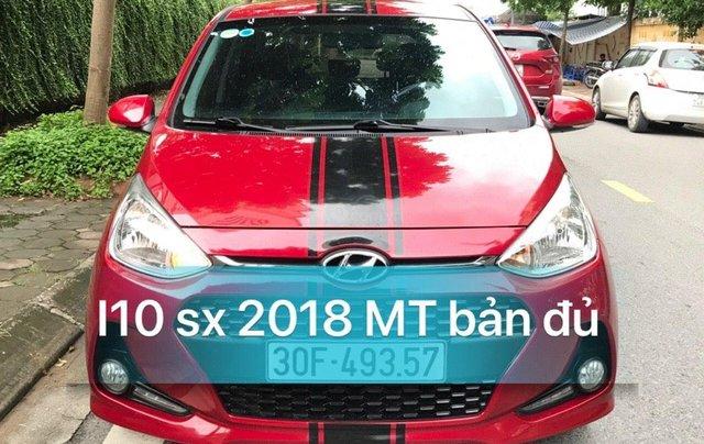 Cần bán xe Hyundai Grand i10 MT 2018, màu đỏ1
