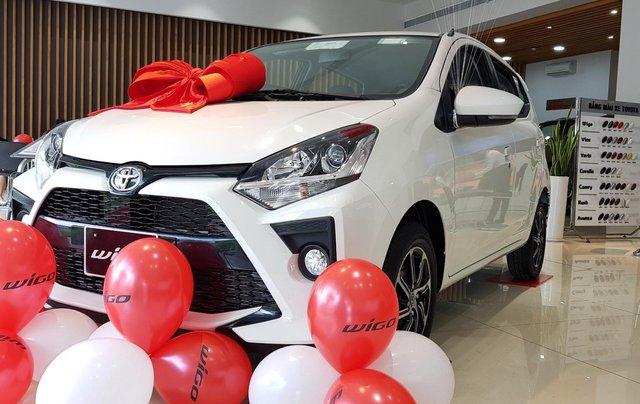 Bán Toyota Wigo 1.2 AT 2020 trả trước 110 triệu giao ngay0