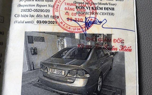 Chính chủ bán xe Honda Civic đời 2009 - 1 đời chủ9
