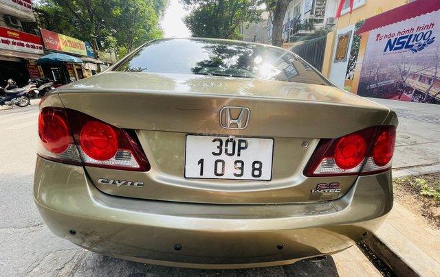 Chính chủ bán xe Honda Civic đời 2009 - 1 đời chủ5
