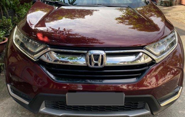 Cần bán Honda CRV L model 2019 màu đỏ mận, giá tốt2