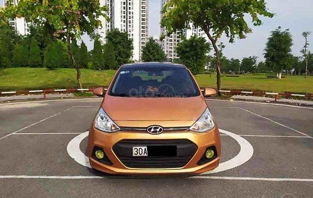 Cần bán gấp Hyundai Grand i10 1.2 AT sản xuất năm 2015, nhập khẩu nguyên chiếc chính chủ1