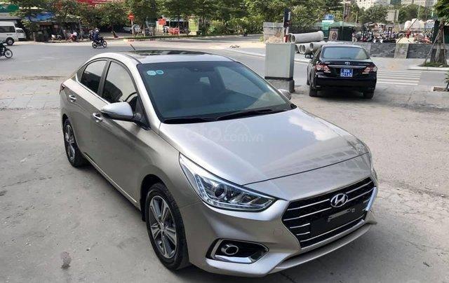 Hyundai Accent 1.4 ATH sản xuất 2018, màu vàng cát1
